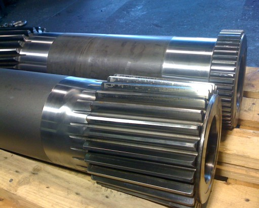 Hardened/Ground  Pinion Shafts